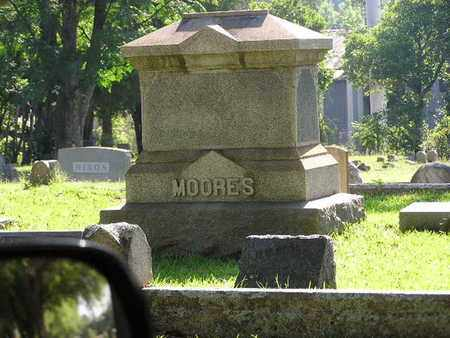 MOORES, FAMILY MARKER - Bowie County, Texas | FAMILY MARKER MOORES - Texas Gravestone Photos