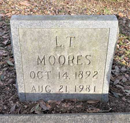 MOORES, L. T. - Bowie County, Texas   L. T. MOORES - Texas Gravestone Photos