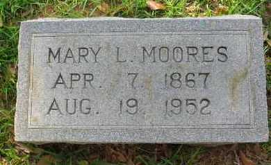 MOORES, MARY L - Bowie County, Texas | MARY L MOORES - Texas Gravestone Photos