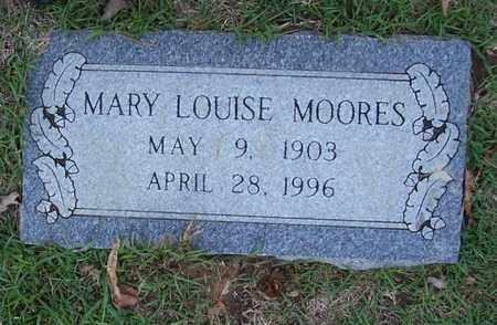 MOORES, MARY LOUISE - Bowie County, Texas | MARY LOUISE MOORES - Texas Gravestone Photos