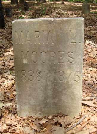 MOORES, MARIA L - Bowie County, Texas | MARIA L MOORES - Texas Gravestone Photos