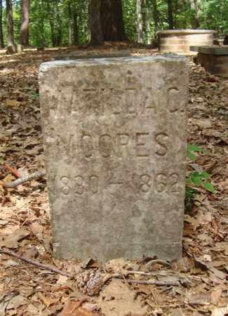 MOORES, MATILDA C - Bowie County, Texas | MATILDA C MOORES - Texas Gravestone Photos