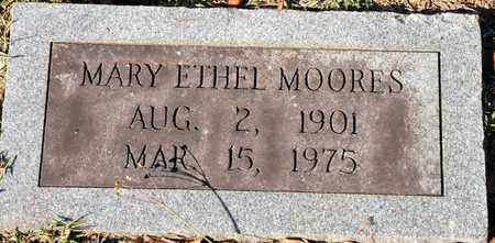 MOORES, MARY ETHEL - Bowie County, Texas | MARY ETHEL MOORES - Texas Gravestone Photos