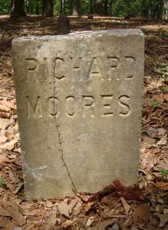 MOORES, RICHARD - Bowie County, Texas | RICHARD MOORES - Texas Gravestone Photos