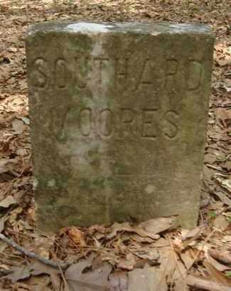 MOORES, SOUTHARD - Bowie County, Texas   SOUTHARD MOORES - Texas Gravestone Photos