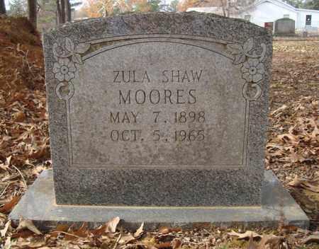 MOORES, ZULA - Bowie County, Texas   ZULA MOORES - Texas Gravestone Photos