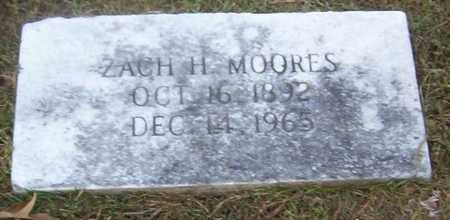 MOORES, ZACH H - Bowie County, Texas   ZACH H MOORES - Texas Gravestone Photos