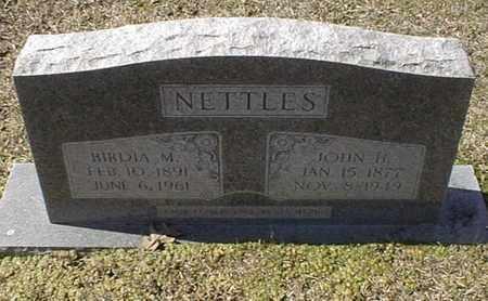 NETTLES, BIRDIA M - Bowie County, Texas | BIRDIA M NETTLES - Texas Gravestone Photos