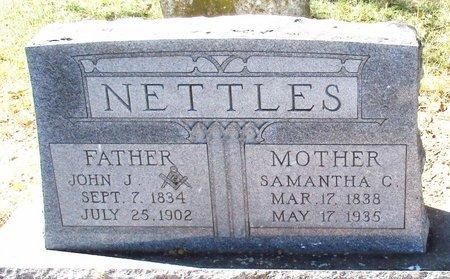NETTLES, JOHN J - Bowie County, Texas | JOHN J NETTLES - Texas Gravestone Photos