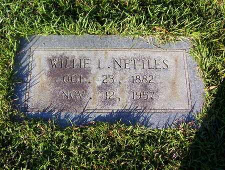 NETTLES, WILLIE L - Bowie County, Texas | WILLIE L NETTLES - Texas Gravestone Photos