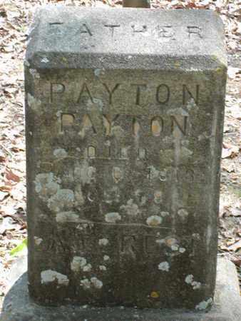 PAYTON, PAYTON - Bowie County, Texas | PAYTON PAYTON - Texas Gravestone Photos