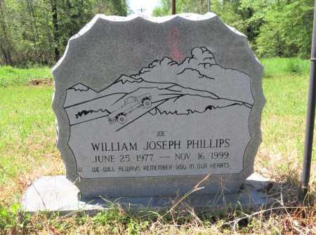 PHILLIPS, WILLIAM JOSEPH - Bowie County, Texas   WILLIAM JOSEPH PHILLIPS - Texas Gravestone Photos