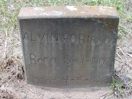 ROBINSON, ALVIN - Bowie County, Texas | ALVIN ROBINSON - Texas Gravestone Photos