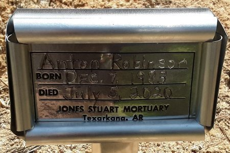 ROBINSON, ANTON (FHM) - Bowie County, Texas   ANTON (FHM) ROBINSON - Texas Gravestone Photos