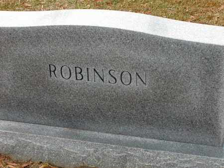 ROBINSON, FAMILY MARKER - Bowie County, Texas | FAMILY MARKER ROBINSON - Texas Gravestone Photos