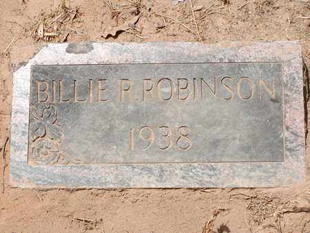 ROBINSON, BILLIE R - Bowie County, Texas | BILLIE R ROBINSON - Texas Gravestone Photos