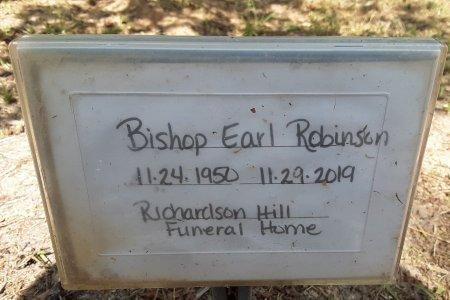 ROBINSON, BISHOP EARL - Bowie County, Texas | BISHOP EARL ROBINSON - Texas Gravestone Photos