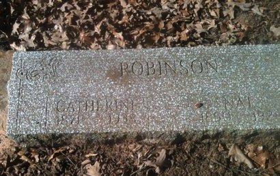 ROBINSON, NATHANIEL - Bowie County, Texas | NATHANIEL ROBINSON - Texas Gravestone Photos