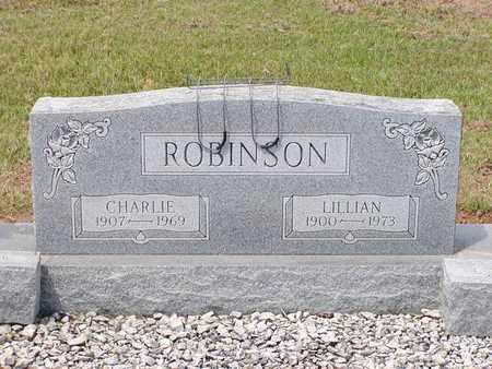 ROBINSON, LILLIAN - Bowie County, Texas   LILLIAN ROBINSON - Texas Gravestone Photos
