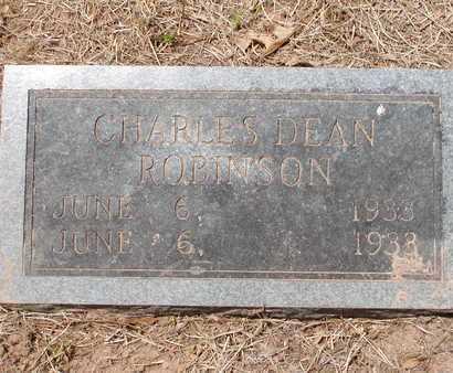 ROBINSON, CHARLES DEAN - Bowie County, Texas | CHARLES DEAN ROBINSON - Texas Gravestone Photos