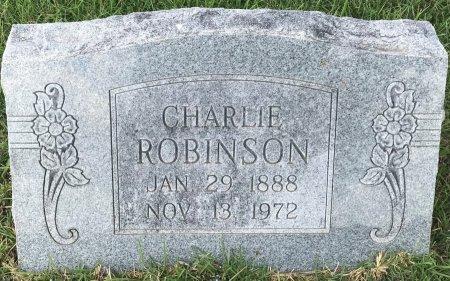 ROBINSON, CHARLIE - Bowie County, Texas | CHARLIE ROBINSON - Texas Gravestone Photos