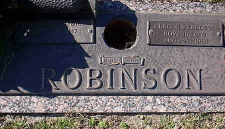 ROBINSON, CLEO GWENDOLYN - Bowie County, Texas | CLEO GWENDOLYN ROBINSON - Texas Gravestone Photos