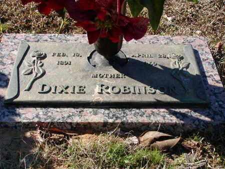 ROBINSON, DIXIE - Bowie County, Texas   DIXIE ROBINSON - Texas Gravestone Photos