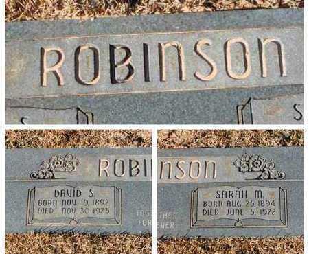 ROBINSON, SARAH M - Bowie County, Texas   SARAH M ROBINSON - Texas Gravestone Photos