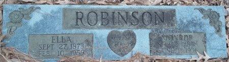 POST ROBINSON, ELLA - Bowie County, Texas   ELLA POST ROBINSON - Texas Gravestone Photos