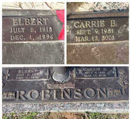 ROBINSON, CARRIE B - Bowie County, Texas | CARRIE B ROBINSON - Texas Gravestone Photos