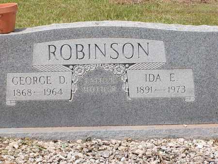 ROBINSON, IDA E - Bowie County, Texas | IDA E ROBINSON - Texas Gravestone Photos