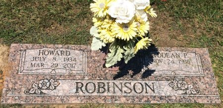 ROBINSON, HOWARD - Bowie County, Texas | HOWARD ROBINSON - Texas Gravestone Photos