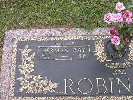 ROBINSON, HERMAN RAY  (CLOSEUP) - Bowie County, Texas | HERMAN RAY  (CLOSEUP) ROBINSON - Texas Gravestone Photos