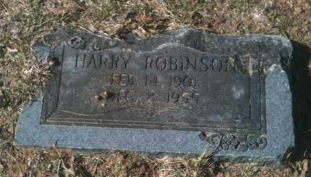 ROBINSON, HARRY - Bowie County, Texas | HARRY ROBINSON - Texas Gravestone Photos