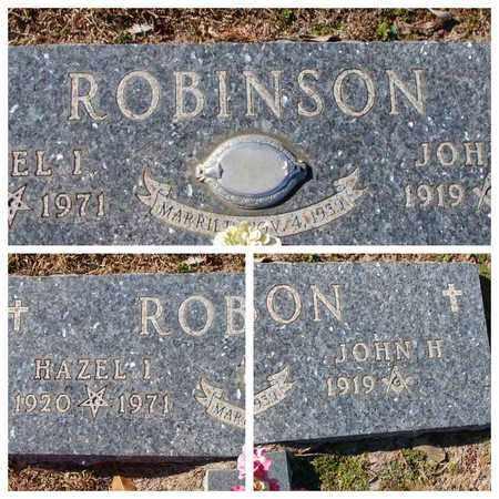 ROBINSON, JOHN H - Bowie County, Texas | JOHN H ROBINSON - Texas Gravestone Photos