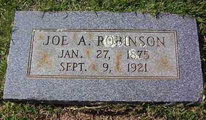 ROBINSON, JOE A - Bowie County, Texas | JOE A ROBINSON - Texas Gravestone Photos