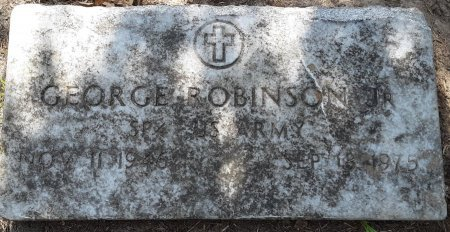 ROBINSON, JR. (VETERAN), GEORGE - Bowie County, Texas | GEORGE ROBINSON, JR. (VETERAN) - Texas Gravestone Photos
