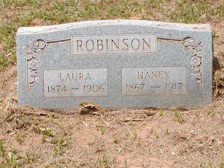 ROBINSON, HANEY - Bowie County, Texas | HANEY ROBINSON - Texas Gravestone Photos