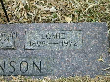 ROBINSON, LOMIE  (CLOSEUP) - Bowie County, Texas | LOMIE  (CLOSEUP) ROBINSON - Texas Gravestone Photos
