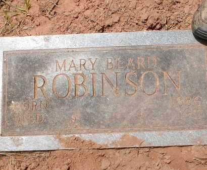 ROBINSON, MARY - Bowie County, Texas | MARY ROBINSON - Texas Gravestone Photos