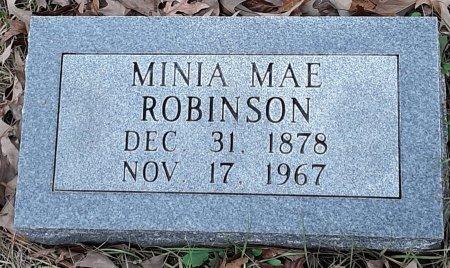 ROBINSON, MINIA MAE  - Bowie County, Texas | MINIA MAE  ROBINSON - Texas Gravestone Photos