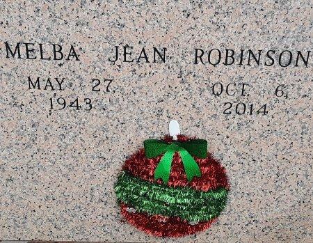 ROBINSON, MELBA JEAN - Bowie County, Texas   MELBA JEAN ROBINSON - Texas Gravestone Photos