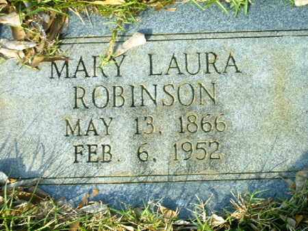 ROBINSON, MARY LAURA - Bowie County, Texas   MARY LAURA ROBINSON - Texas Gravestone Photos