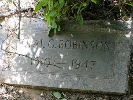 ROBINSON, OPAL G - Bowie County, Texas | OPAL G ROBINSON - Texas Gravestone Photos