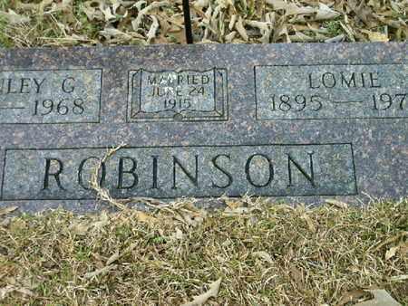 ROBINSON, LOMIE - Bowie County, Texas | LOMIE ROBINSON - Texas Gravestone Photos