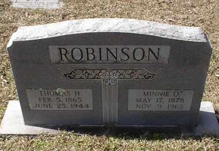 ROBINSON, MINNIE O - Bowie County, Texas | MINNIE O ROBINSON - Texas Gravestone Photos