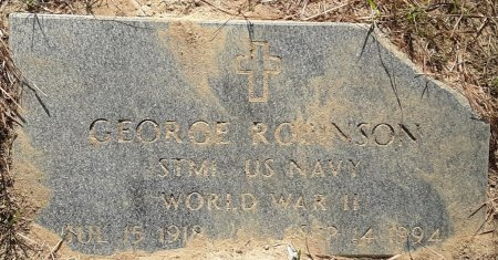 ROBINSON (VETERAN WWII), GEORGE - Bowie County, Texas | GEORGE ROBINSON (VETERAN WWII) - Texas Gravestone Photos