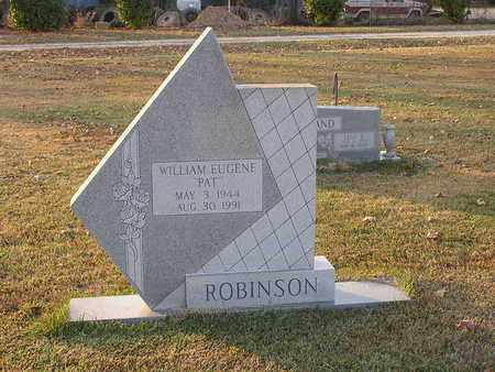 "ROBINSON, WILLIAM EUGENE ""PAT"" - Bowie County, Texas 