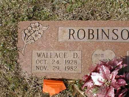 ROBINSON, WALLACE D - Bowie County, Texas | WALLACE D ROBINSON - Texas Gravestone Photos