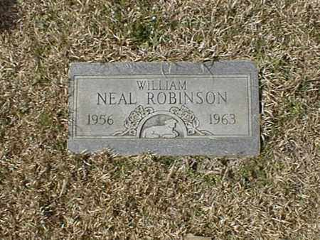 ROBINSON, WILLIAM NEAL - Bowie County, Texas | WILLIAM NEAL ROBINSON - Texas Gravestone Photos